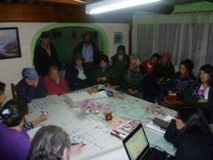 Reunión con productores y productoras de Subachoque